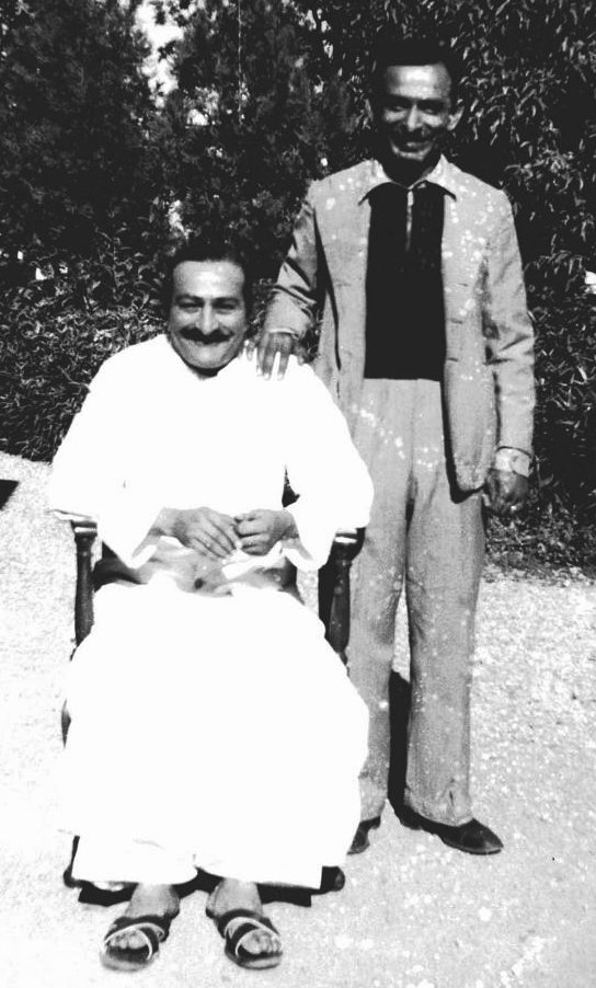 Meher Baba in Chair