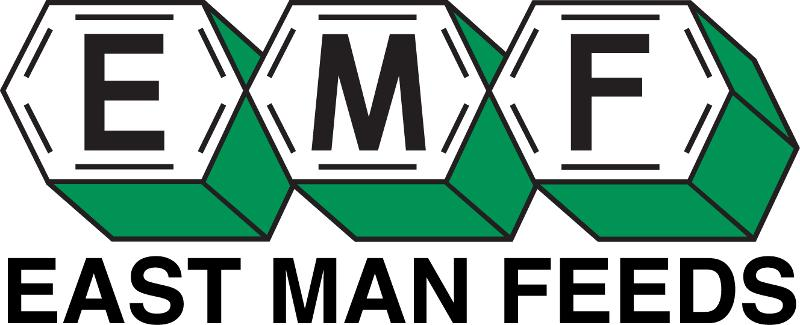 East-Man Feeds logo