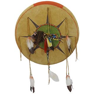 Spirit Buffalo Shield