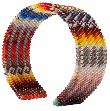 American Indian Beadwork: Beaded Bracelet