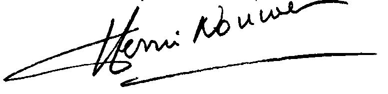 Henri's Signature