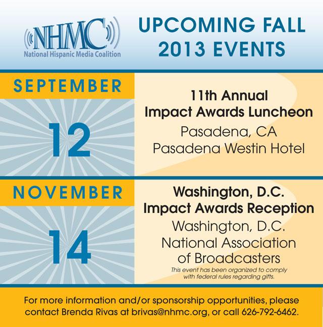 NHMC 2013 Fall Events