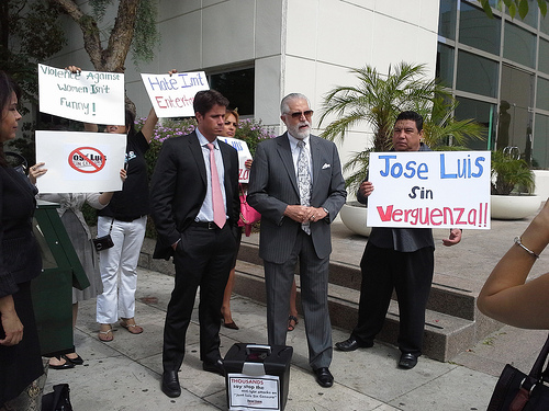 JLCS Protest