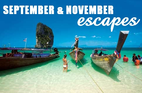 Sept and Nov escapes