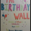 The Birthday Wall: Create a Collage to Celebrate Your Child: an eBook by Dawn Herring