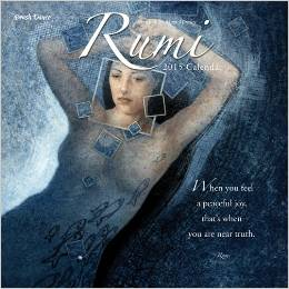 Poetry of Rumi 2015 calendar