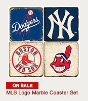 MLB Coaster Set