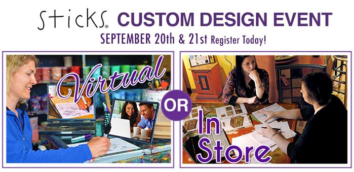 sticks custom design event