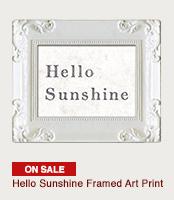 Hello Sunshine Frame