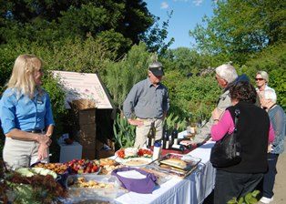 Plant Sale Member Night Nibble Table
