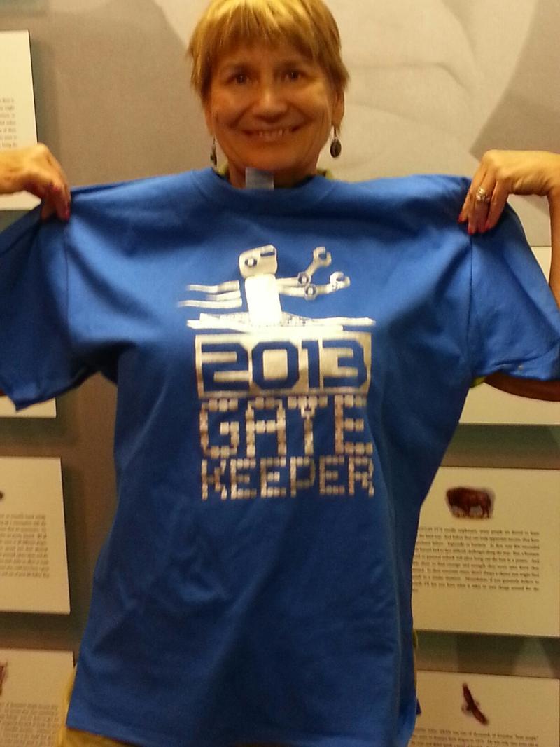 2013 Gatekeeper Tshirt and Volunteer
