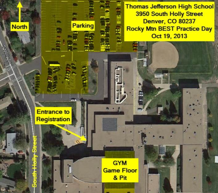 TJHS Aerial Map