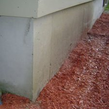 Turn exposed concrete foundation walls into a thing of beauty!