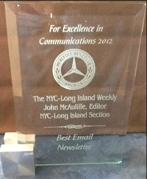 Excellence in Comunication Award!
