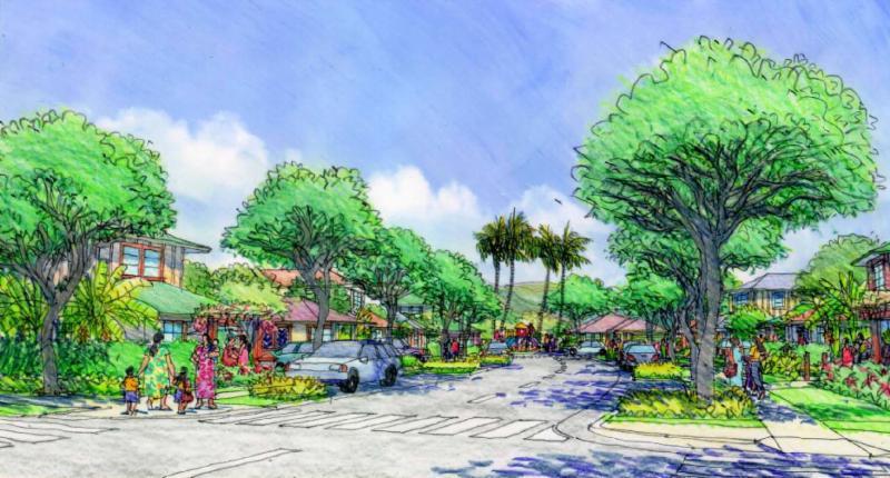 Conceptual Rendering of Laie-Malaekahana Housing