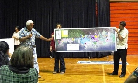 Residents participate in 2009 community planning workshops
