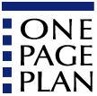 One Page Plan Book Logo