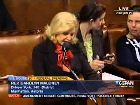 Rep Carolyn Maloney