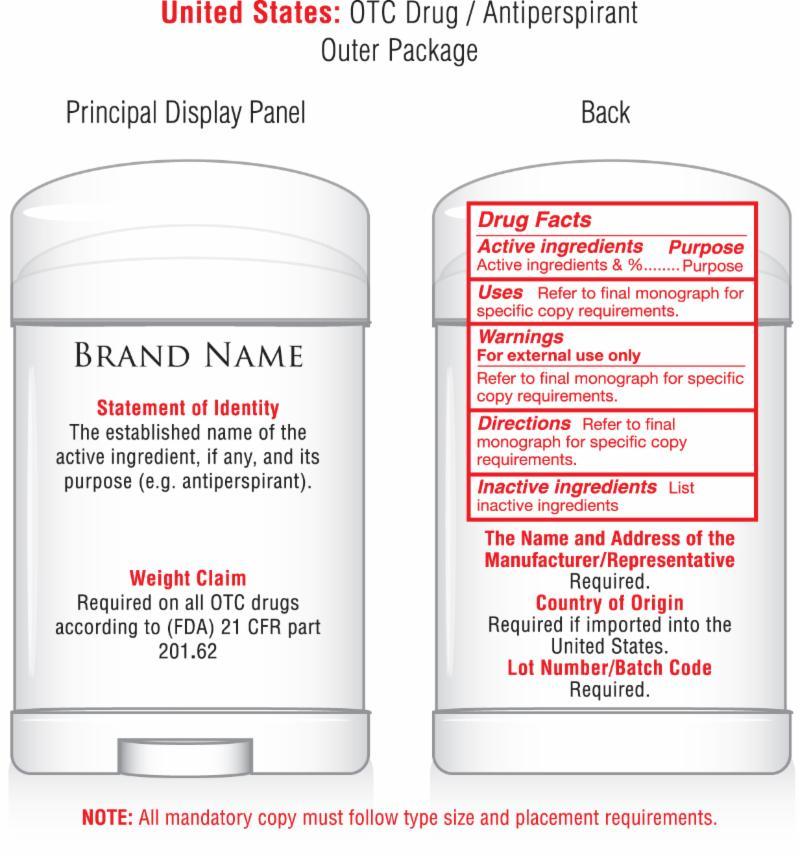 Otc Label Ugly Designing Otc Labels