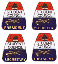Student Council pins