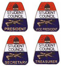 Student Council pins