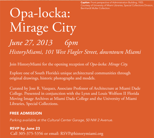 Opa-locka: Mirage City
