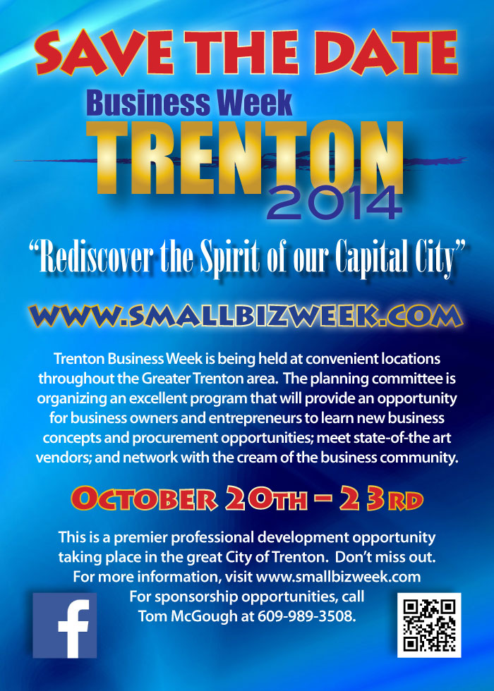 Trenton Small Business Week Save the Date