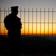 An IDF soldier takes a break (IDF Spokesperson's Office)