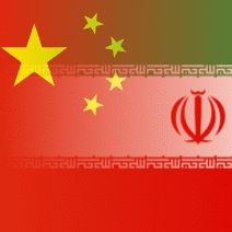 Flags of China and Iran _GRAPHIC_