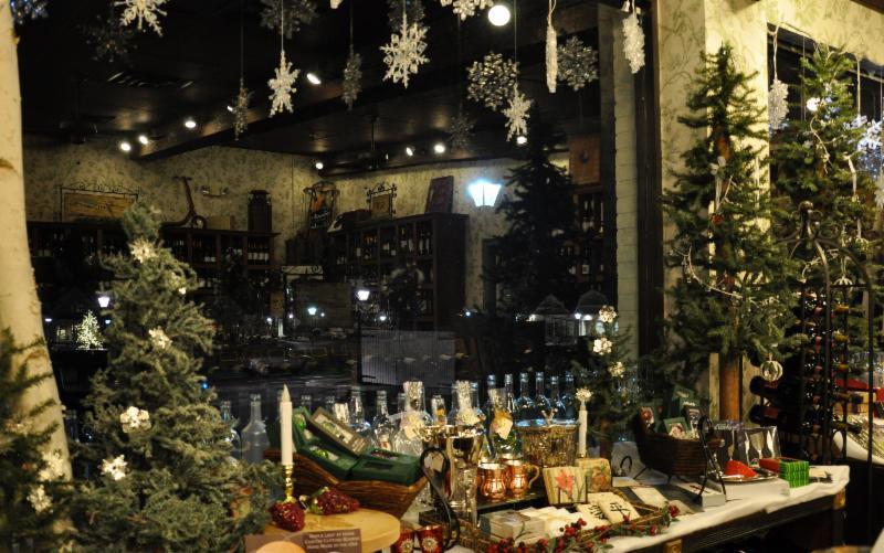 CXV Christmastime window 2013