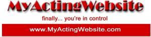 My Acting Website Logo