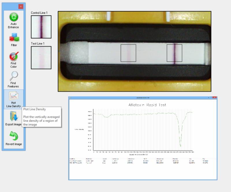 Vision Suite Pro Assay Development Software screenshot