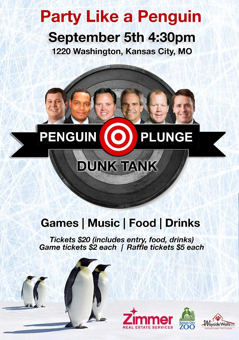 Penguin Plunge Dunk Tank