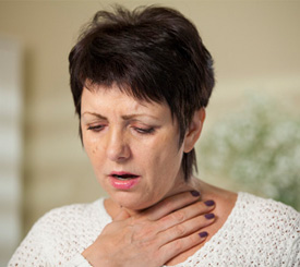 Primarily caused by cigarette smoking, COPD is a lung disease that causes damage to lung tissue over time, making it increasingly harder to breathe.