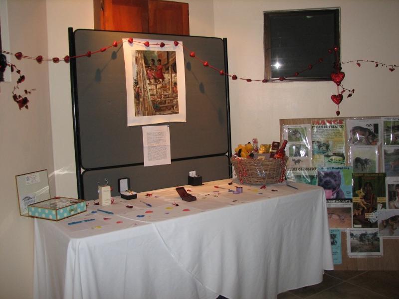 Belmopan Humane Society auction