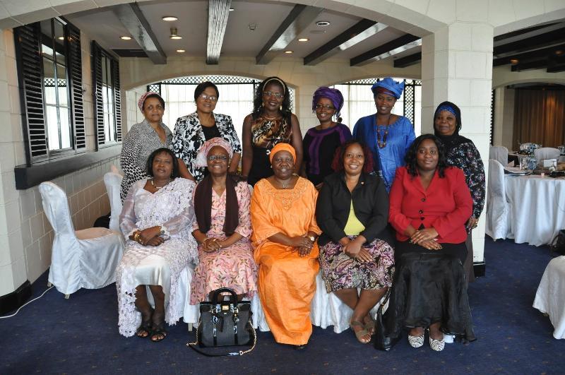 Some members of AWLN at the 2012 annual review in Kenya, Nairobi