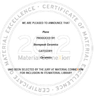 476 Material ConneXion accepts StonePeak into their Library!