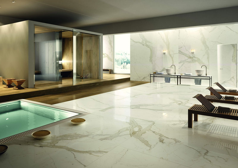 Spa Floor and wall tile