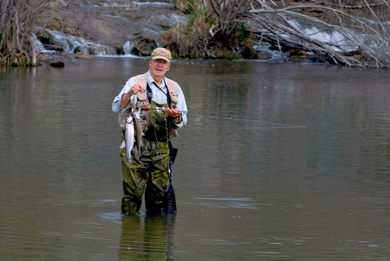 Weekly wildlife news for Trout fishing in oklahoma