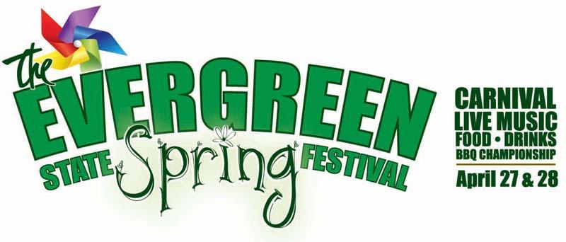Evergreen Spring Festival logo