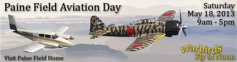 Paine Field Aviation Day banner