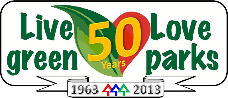 Parks 50th Anniversary Banner