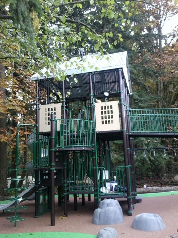Playground at Miner's Corner Park
