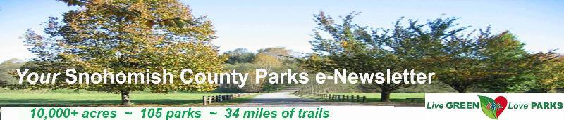 Parks Newsletter Masthead