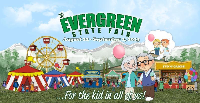 2013 Evergreen State Fair Theme Logo