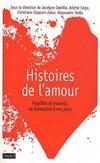 'Histoires de l'amour' de Arlette Farges