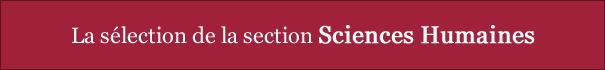 La sélection Sciences Humaines