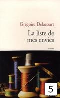 La liste de mes envies G. Delacourt