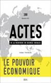 'Actes de la recherche en Sciences Sociales' de Pierre Bourdieu