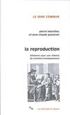 'La reproduction, éléments d'une théorie du système d'enseignement'